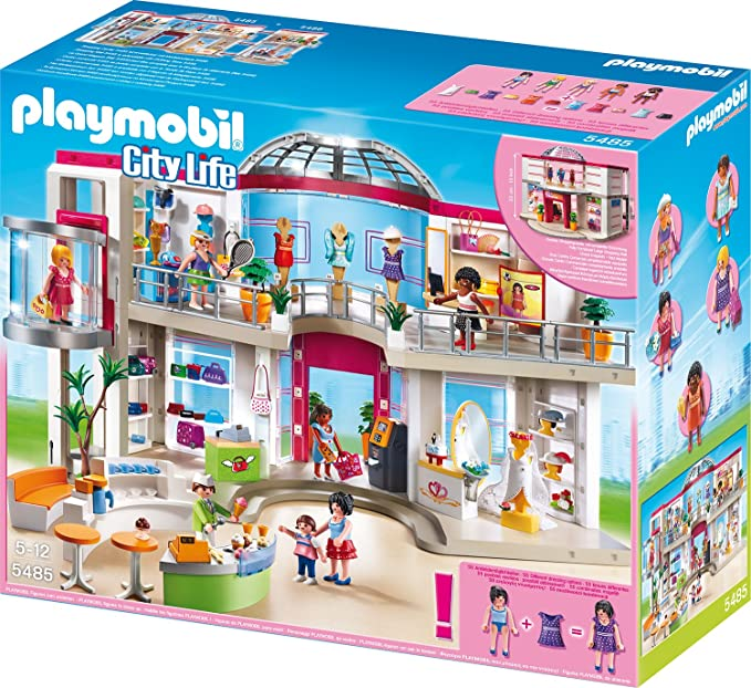 Playmobil 5485 City Life Shopping Centre Amazon De Spielzeug