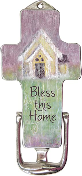 Multicolored One Size Cathedral Art Over The Over The Door Sign Home