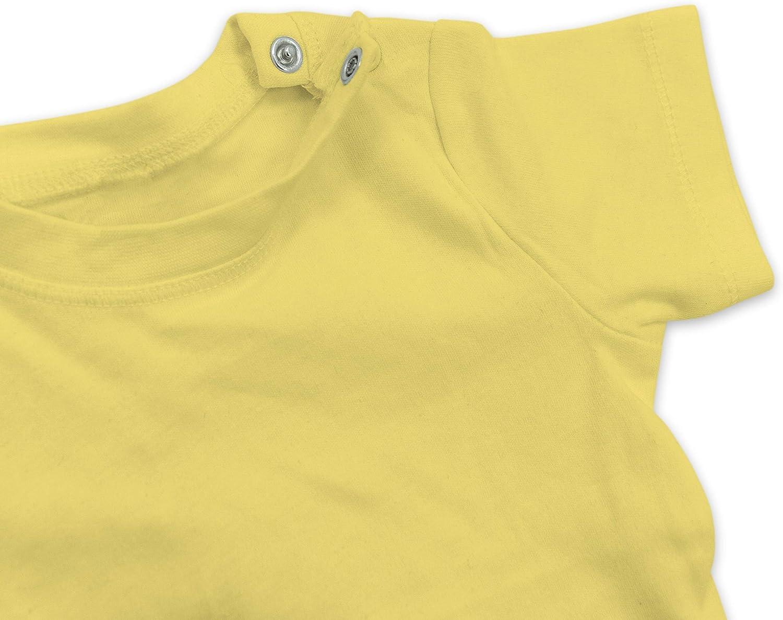 Baby T-Shirt Kurzarm Anl/ässe Baby Irish for a Day Schriftzug wei/ß