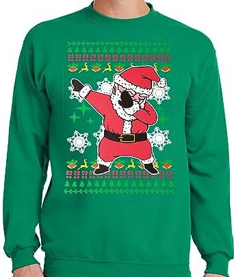 LiberTEES Big and Tall King Size Ugly Dabbing Santa Christmas Sweater at  Amazon Men's Clothing store: