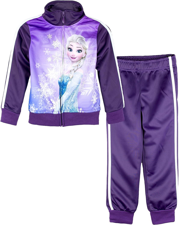 Disney - Chándal de Frozen para niñas, de 3 a 8 años morado morado ...