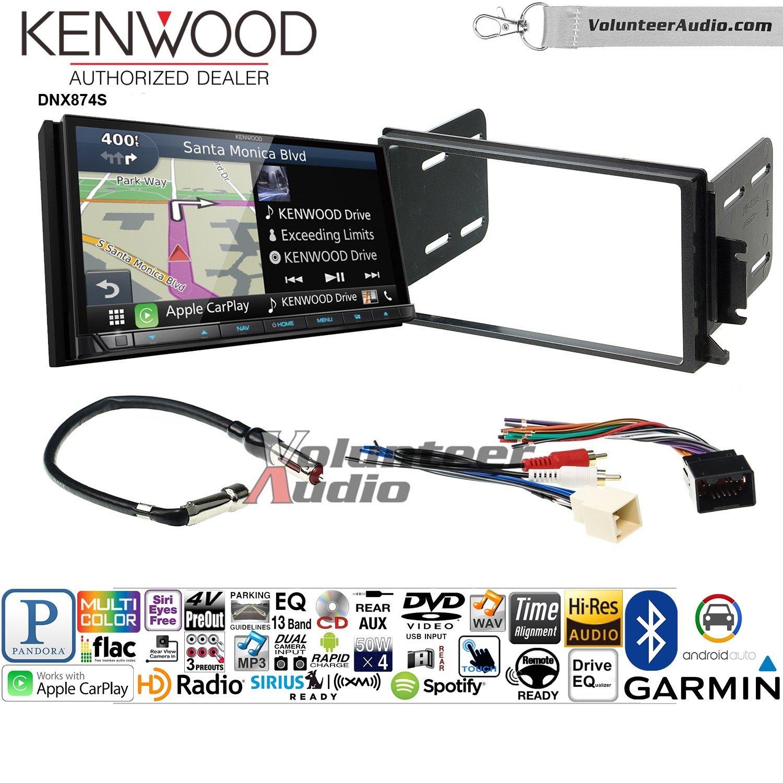 ボランティアオーディオKenwood dnx874sダブルDINラジオインストールキットwith GPSナビゲーションApple CarPlay Android自動Fits 1998 – 2002 Continental B07BYM13DZ