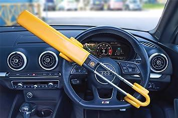 Streetwize Car Security Twin Bar Double Claw Steering Wheel Lock Anti Theft