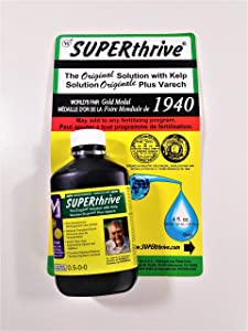 Hydrofarm VI30148 4-Ounce SUPERthrive� Plant Vitamin & Hormone Supplement