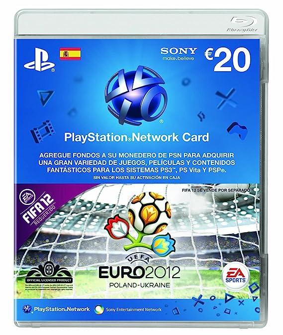 Playstation - Tarjeta De Pre-pago, 20: Amazon.es: Videojuegos