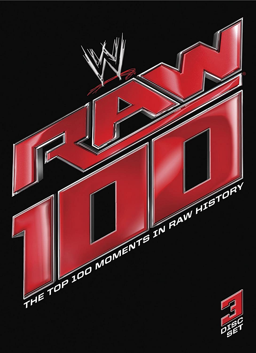 Amazoncom Wwe Raw 100 The Top 100 Moments In Raw