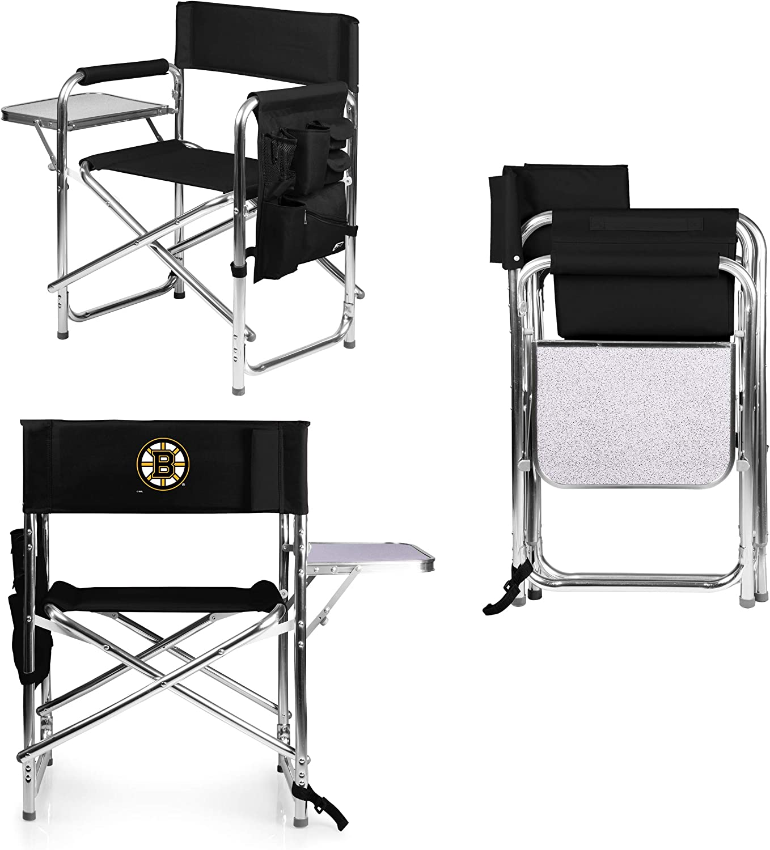 PICNIC TIME NHL Boston Bruins Portable Folding Sports Chair