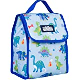 Lunch Bag, Olive Kids by Wildkin Lunch Bag, Insulated, Moisture Resistant, Easy to Clean and Folds Flat Making Storage That Much Easier, Ages 3+, Perfect for Kids or On-The-Go Parents – Dinosaur Land