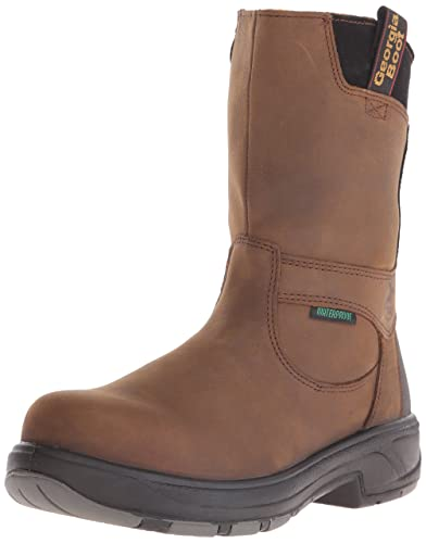 Amazon.com | Georgia Boot Men's Flxpoint 10 Inch Work Shoe ...