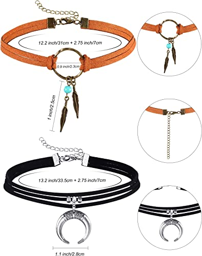 turquoise cross heart Leather chokernecklace Hippybohemianfestivalsurf necklace SALE! hieroglyphics