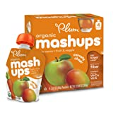 Amazon Price History for:Plum Kids Organic Fruit and Veggie Mashups, Carroty Chop, 3.17 Ounce, 4 Count (Pack of 6)