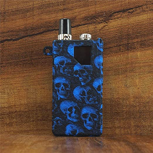 Black YDNI Texture Case for Lost Vape Orion DNA Go//Orion Q Protective Case Silicone Cover Antislip Holder Duarble Sleeve Shield Cover Wrap Decal Skin