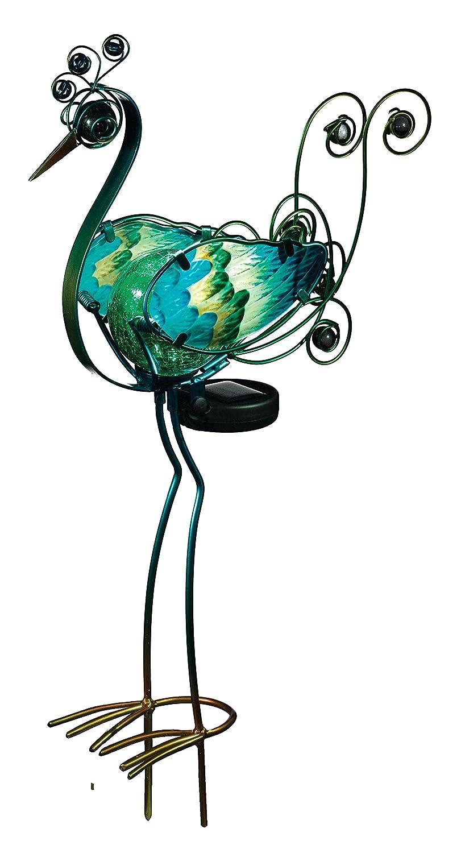 Charming Amazon.com: Regal Art U0026Gift Solar Peacock Stake, Green, 21 Inch: Patio,  Lawn U0026 Garden
