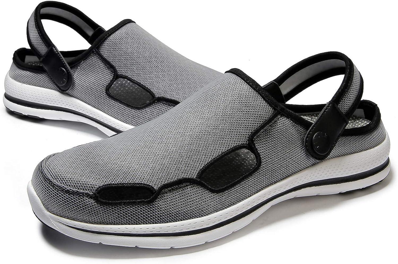 KAIDER Women's Slippers Garden Clogs Lightweight Outdoor Beach Sandals for Walking