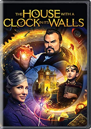 Amazon Com The House With A Clock In Its Walls Jack Black Cate Blanchett Owen Vaccaro Renee Elise Goldsberry Sunny Suljic Colleen Camp Lorenza Izzo Kyle Maclachlan Eli Roth Bradley J Fischer James
