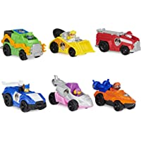 PAW Patrol, True Metal Movie Gift Pack of 6 Collectible Die-Cast Toy Cars, 1:55 Scale, Kids Toys for Ages 3 and up