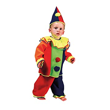 modisches und attraktives Paket feinste Stoffe neue angebote Kostümplanet® Clown-Kostüm Kinder Babys und Kleindkind Faschings-Kostüme  Größe 86
