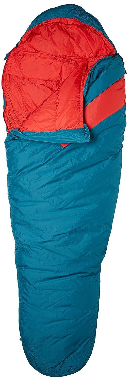 Azzurro//Rosso Bertoni Tende Mummia Clima-Tech Sacco a Pelo in Piumino dAlta Quota e Escursionismo Unisex-Adulto Unica