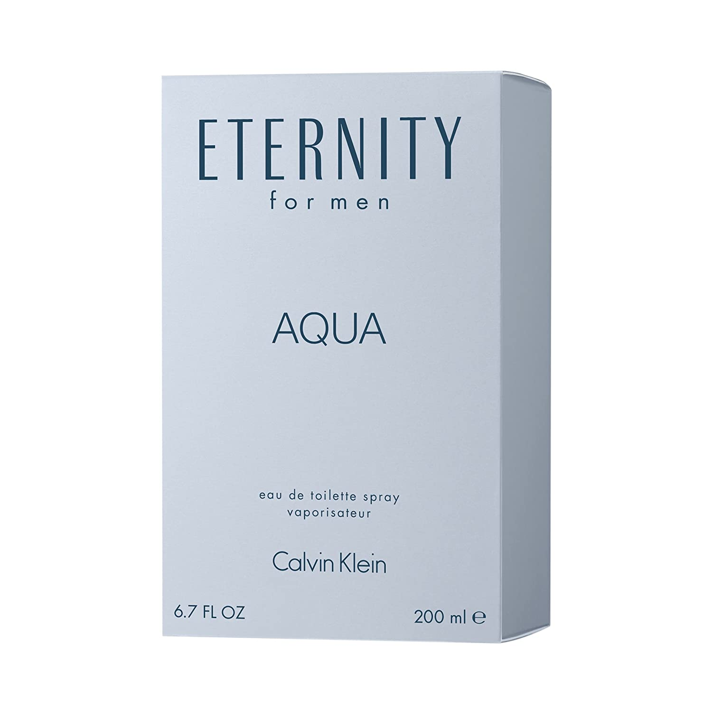 Amazoncom Calvin Klein Eternity For Men Aqua Eau De Toilette 67
