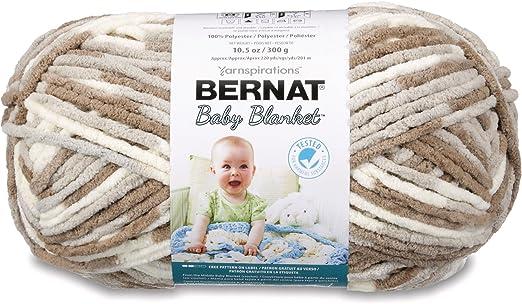 Peachy 6 - Bernat 16110303510 Baby Blanket Yarn - Super Bulky Gauge