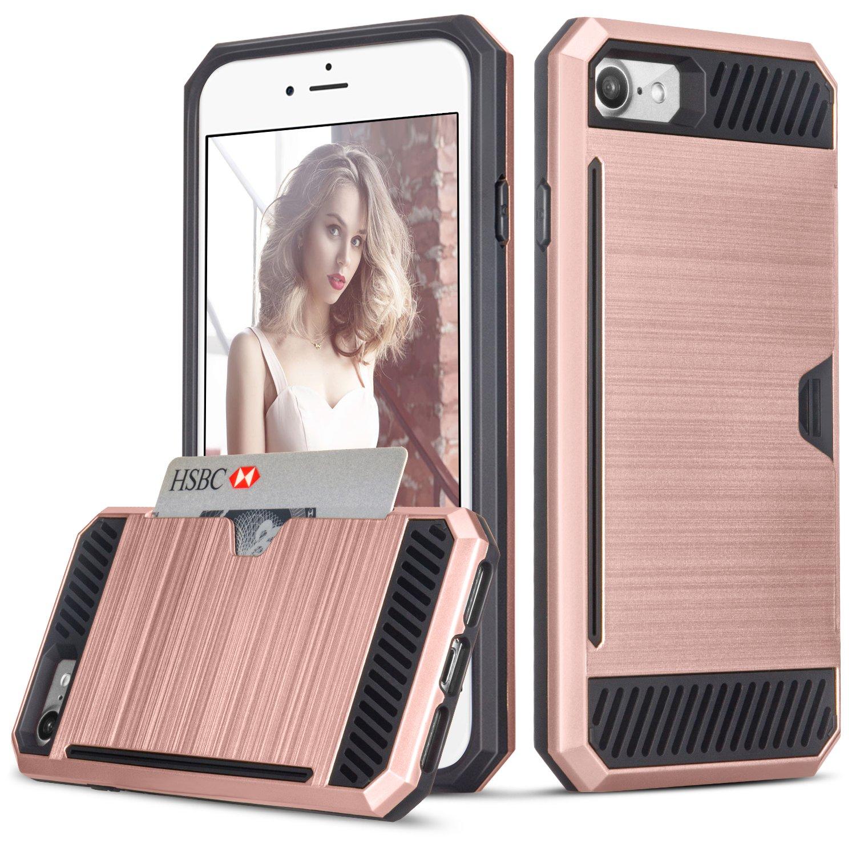 Amazon.com: iPhone 7 Case, TILL(TM) Wallet Case [Card Pocket ...
