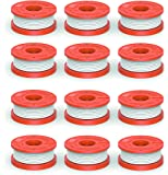 """Quickload 0.065"""" Replacement Autofeed Spool for WORX String Trimmers (Compatible with WA0010), 12-Pack"""