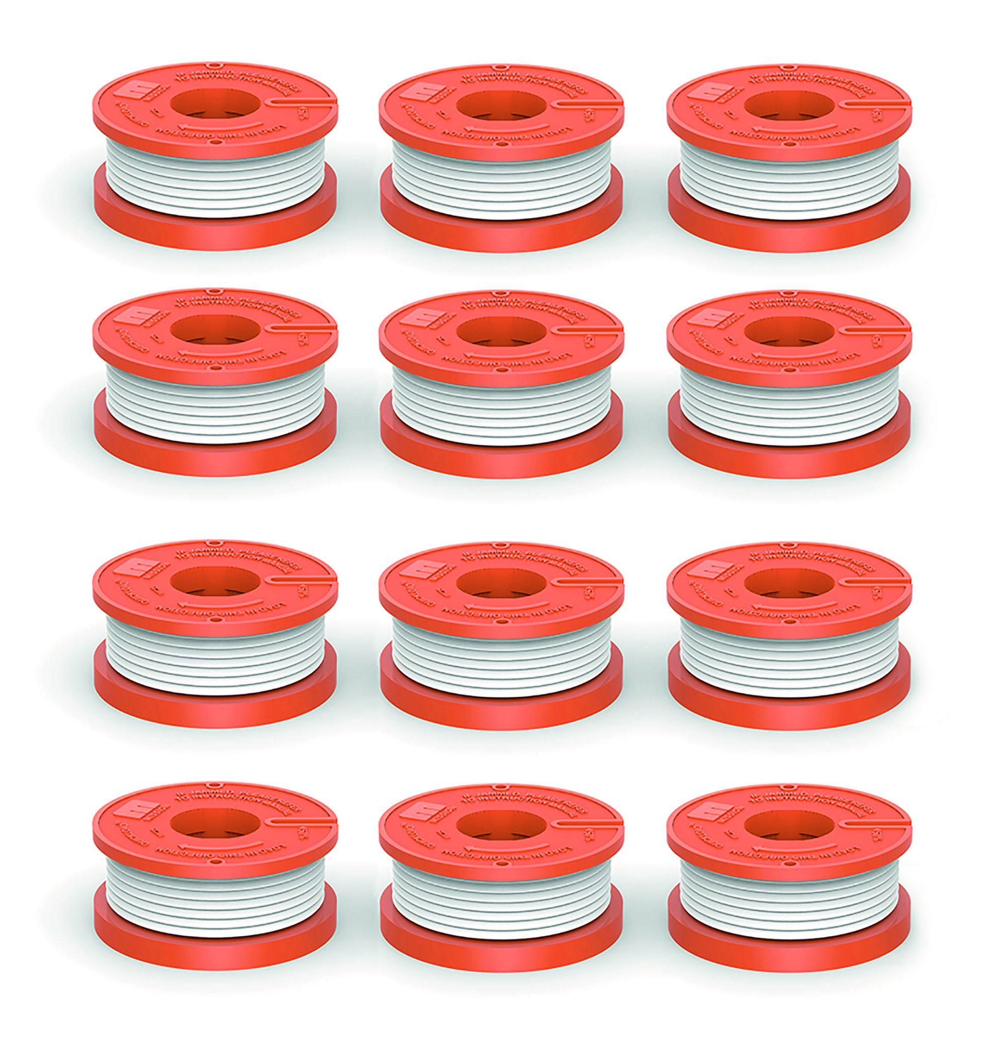 Quickload 0.065'' Replacement Autofeed Spool for WORX String Trimmers (Compatible with WA0010), 12-Pack by Quickload