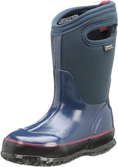 BOGS Classic Solid Navy, Größe:30: : Schuhe