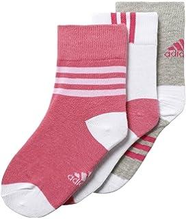 adidas LK Ankle 3pp Calcetines, Niños