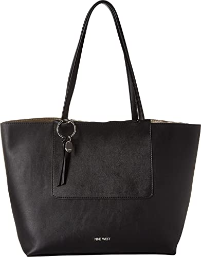 0708149a31c7 Amazon.com: Nine West Women's Nylah Tote Black One Size: Shoes