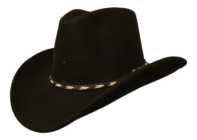 Cowboyhut Westernhut Rockmount Ranch Wear Dream Black Made in USA