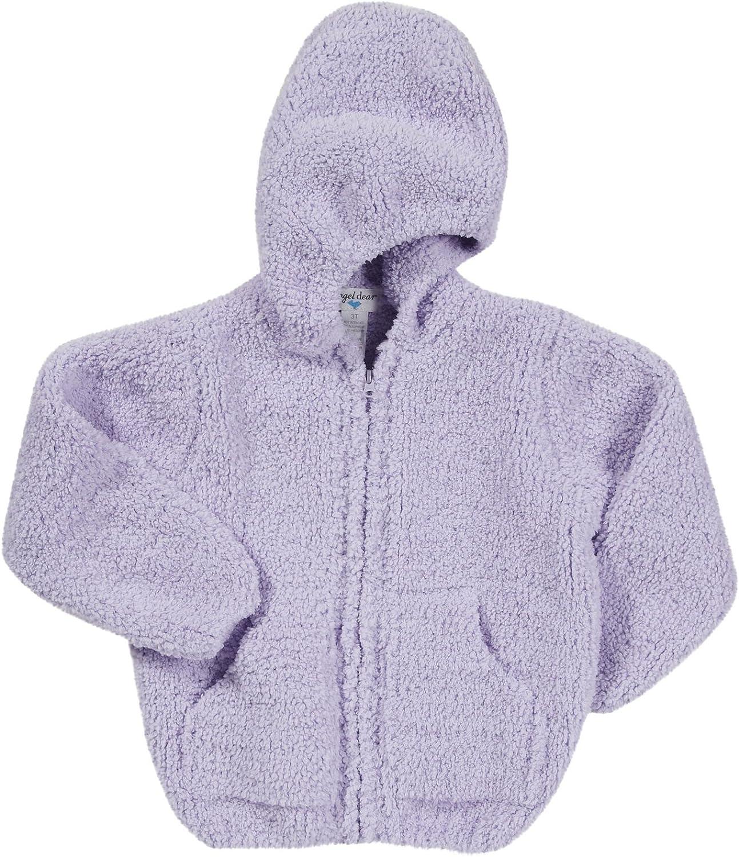 BOSBOOS Toddler Baby Boys Girls Cute Fleece Thick Hoodie Jacket Kids Soft Warm Outwear Coat Clothes