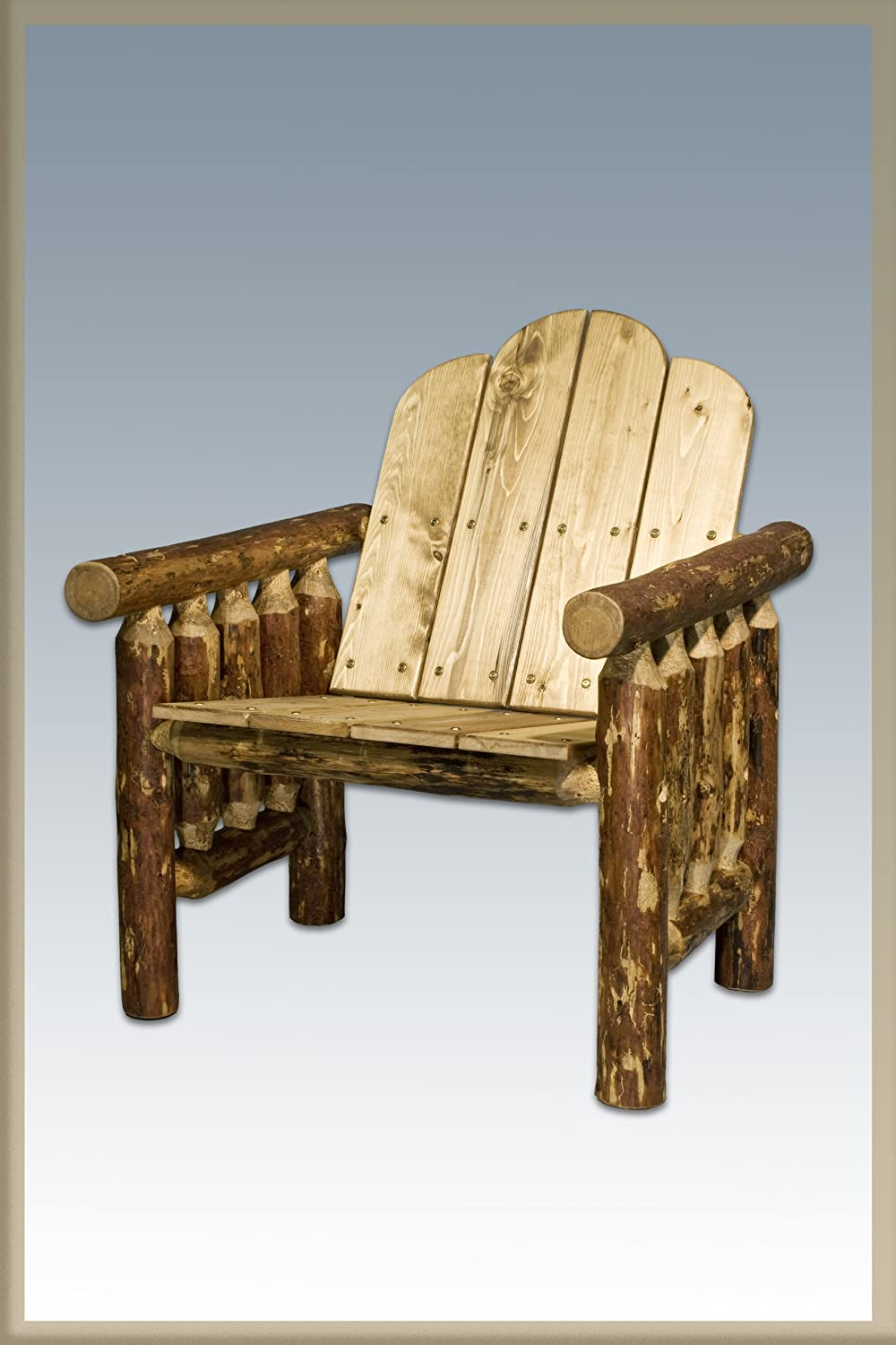 Log Furniture – Deck Chair