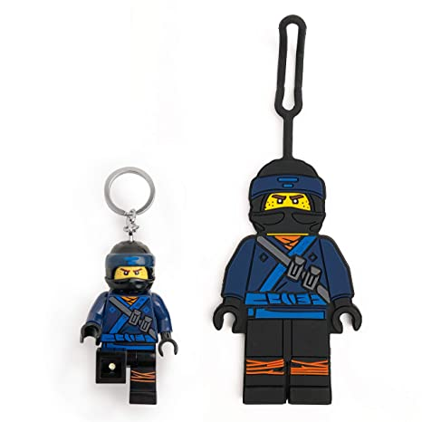 Amazoncom Lego Ninjago Movie Jay Minifigure Key Light Bag Tag