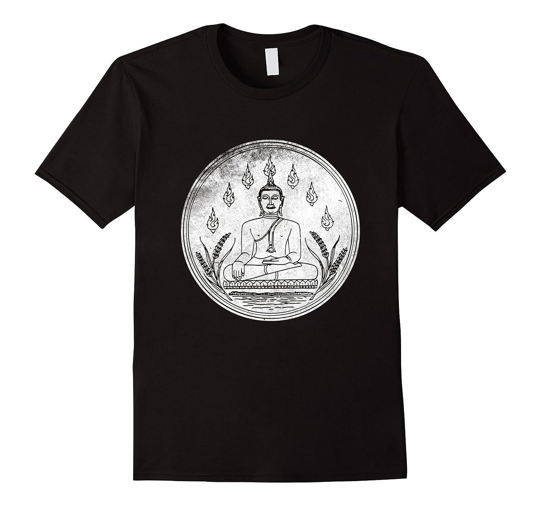 Buddha Shirt Love Yoga Lotus Flower Mediation Buddhism Tee Bn