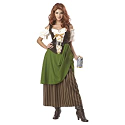 California Costumes Tavern Maiden Adult Costume