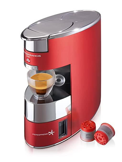 Illy 60178 Macchina Caffè IperEspresso, Rosso: Amazon.it: Casa e cucina