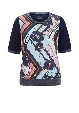 8f2a3e5e14c290 Rabe Damen T-Shirt mit Mustermix und Stretch-Bund  Amazon.de  Bekleidung