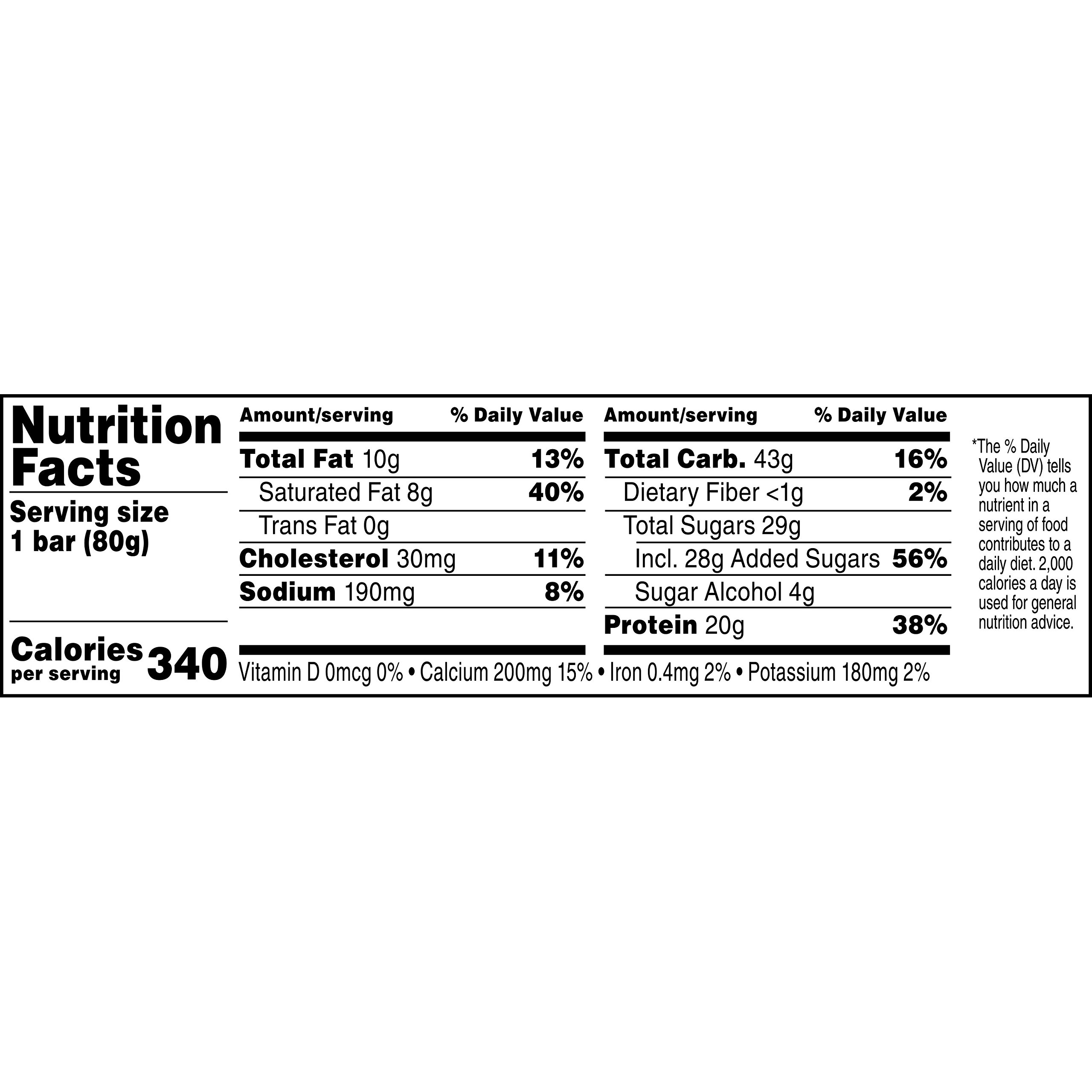 Gatorade Recover Chocolate Caramel Whey Protein Bar, 2.8 Ounce by Gatorade (Image #3)