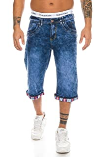 b942588da0b21 Rock Creek Herren Jeans Bermuda Hose Shorts Sommer Hose Bikerhose ...