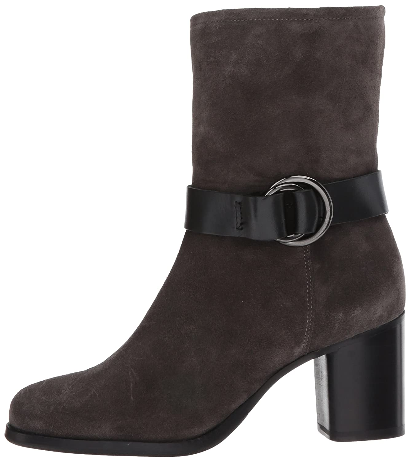 FRYE Women's Addie Harness Mid Boot B01MTYO8AZ 11 B(M) US|Grigio Soft Oiled Suede