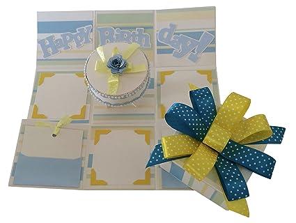 Crack Of Dawn Crafts Birthday Handmade Explosion Box
