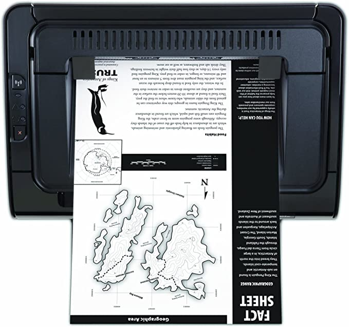 HP LaserJet Pro P1102w - Impresora láser inalámbrica (266 MHz ...