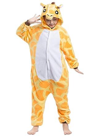 63e1798eaf25 Amazon.com  Kids Animal Pajama Children Unisex Cosplay Costume Onesie