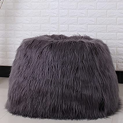 Image Unavailable. Image not available for. Color  FidgetGear Furry Bean  Bag Cover Lounger Size Sofa Chair Living Room Beanbags Cover One Seat 69037a1dae7b8
