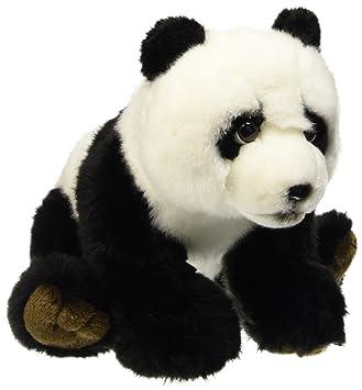Amazon Com Lelly 30cm Panda Bear Stuffed Toy Brown Toys Games