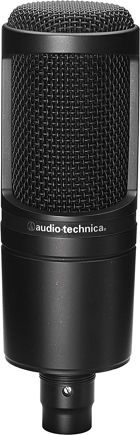 Audio-Technica AT2020 - Best Podcast Microphone Under 100