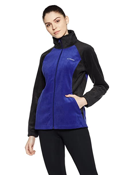 c837ac4840dd24 Amazon.com  Columbia Sportswear Women s Dotswarm II Fleece Full Zip ...