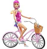 Barbie - Djr54 - Mattel - Glam Vélo Et Poupée