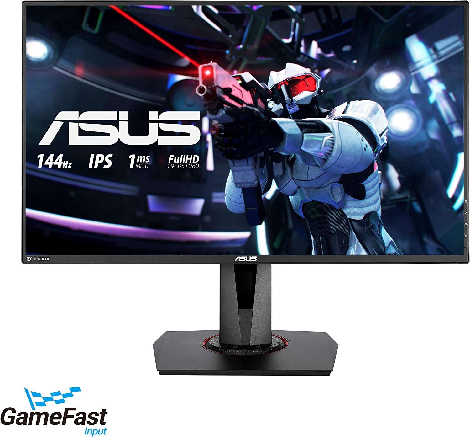 "ASUS VG9Q 9"" Full HD 9p IPS 9Hz 9ms (MPRT) DP HDMI DVI Eye Care  Gaming Monitor with FreeSync/Adaptive Sync"